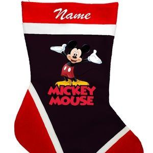 Micky Mouse Personalized Christmas Stockings